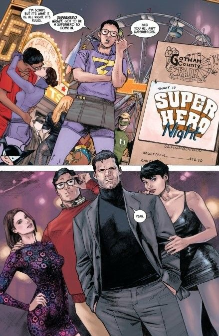 Batman #37 preview -Lois Lane, Clark Kent, Bruce Wayne, Selina Kyle