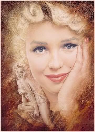@PinFantasy - Dear Marilyn ~ For more:  - ✯ http://www.pinterest.com/PinFantasy/gente-~-marilyn-monroe-art/