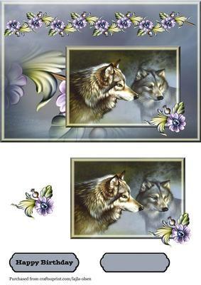Wolfs - CraftsuPrint