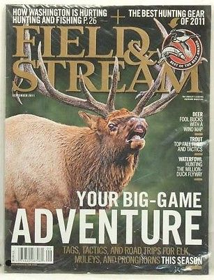 FIELD AND STREAM MAGAZINE HUNTING TRIPS FOR ELK MULEYS & PRONGHORNS VERY RARE!!!