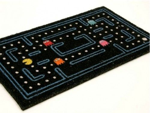 This is a running mate for new door mat, I think. Via IncredibleThings: http://www.incrediblethings.com/home/the-pac-man-doormat-welcomes-guests-into-your-maze/