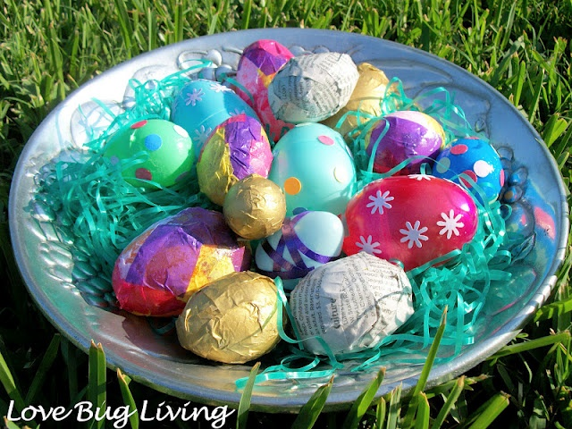 Use mod podge to decorate your plastic Easter eggs!  Last longer so the kids can keep on hunting.  :): Mod Podge, Easter Spr, Crafts Projects, Holidays Ideas, Easter Eggs, Podge Easter, Bugs Living, Kids Fun, Holidays Fun