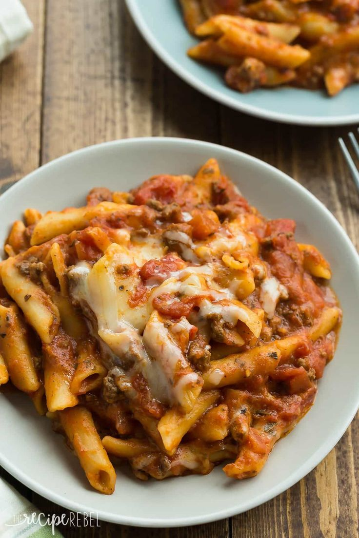 This Slow Cooker Baked Ziti is actually made completely in the crockpot -- even the pasta! It is so much easier than the traditional version! Recipe video