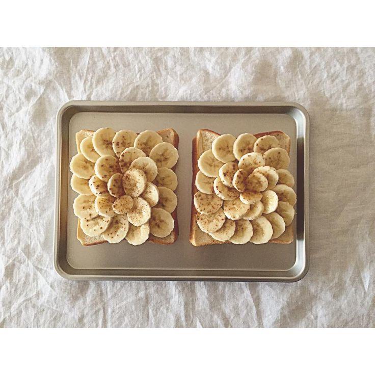 作り方無限!簡単おいしい「バナナトースト」のおすすめレシピ集 - macaroni