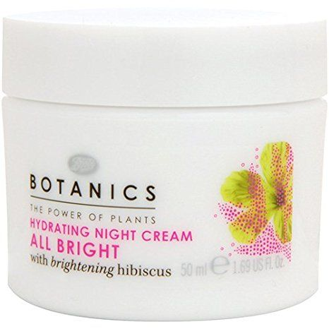 Boots Botanics All Bright Hydrating Night Cream – 1.69 oz Review