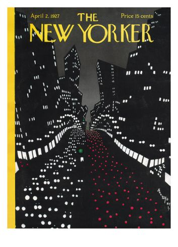 The New Yorker Cover - April 2, 1927 by Toyo San. Giclee print from Art.com.
