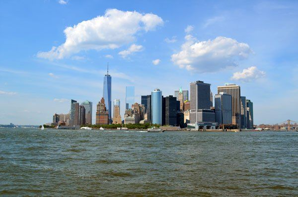A view of Manhattan from Governors Island - the perfect afternoon/day trip from NYC