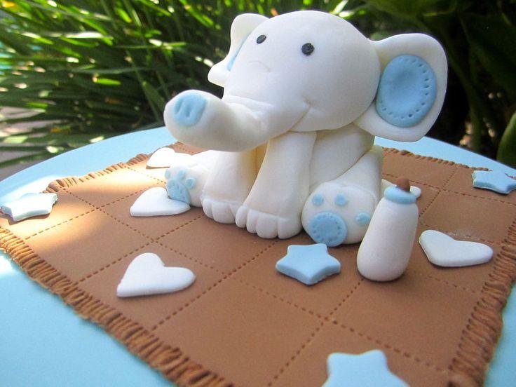 elephant cake baby shower cakes pinterest