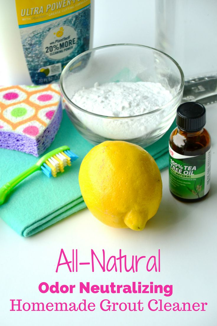 Homemade Grout Cleaner