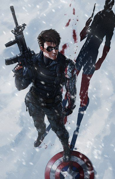 Winter Soldier l Зимний солдат Bucky Barnes