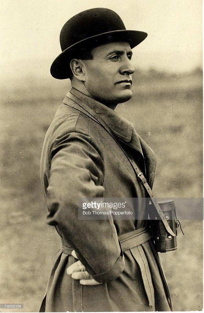 Politics, Circa 1922, Benito Mussolini, who became the Italian Prime Minister in 1922