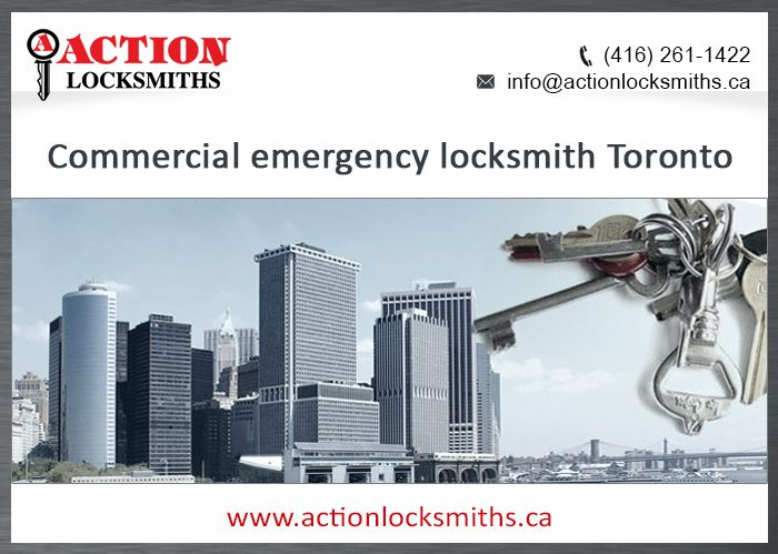 In need of a life saver? Commercial emergency locksmiths can be found in Toronto and we are your guys! Action Locksmiths are available to save the day 24/7.