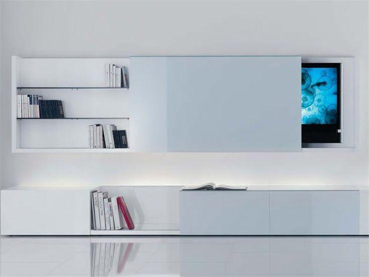 Het tv-meubel van nu is een combinatie van je tv-meubel, dressoir en boekenkast! Meer inspiratie vind je op  http://100procentkast.nl/blog/inspiratie-voor-je-tv-meubel-23-8/