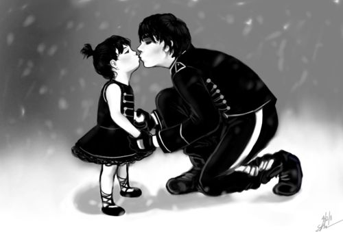 images of gerard way artwork | Gerard Way Gee Way art- I adore this, it's so sweet!!