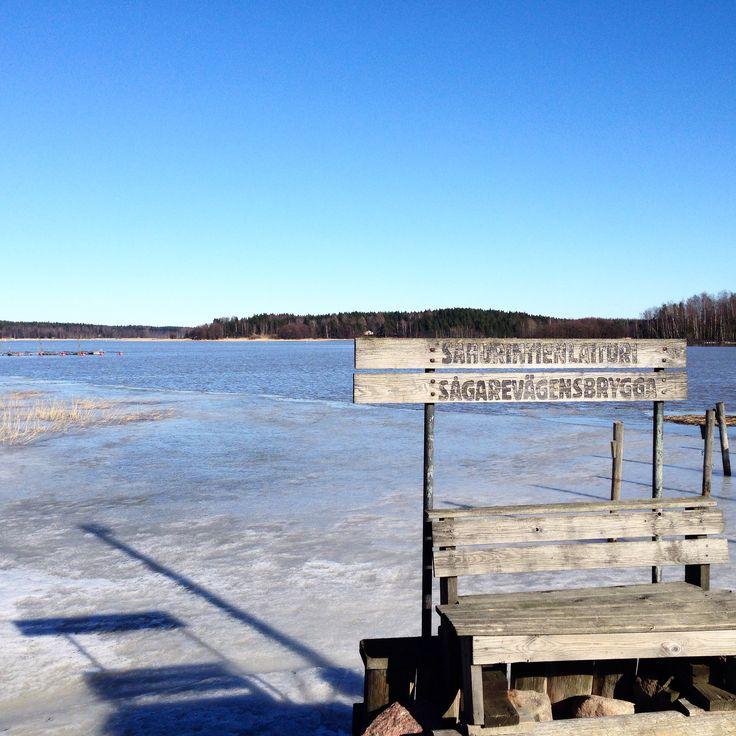 Sahasaari pier in Hamari. www.visitporvoo.fi