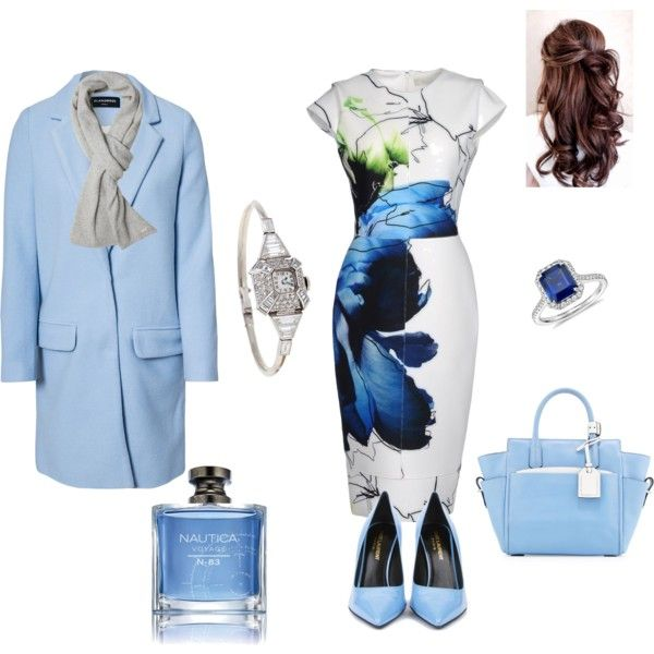 """""""classical blue"""" by collett-brundage-draper on Polyvore"""