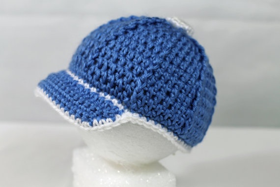 Crochet Baby Baseball Cap By Thebabycrow Things I Love