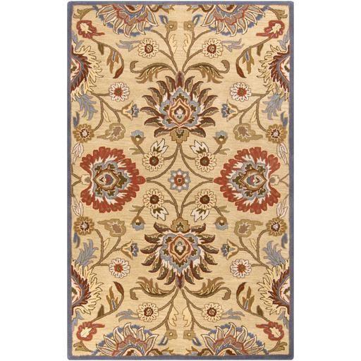 Caesar CAE-1012 White Damask Rug  #decor #rugs #homeideas #carpet #homedesign #homedecor #trendy #homeaccents #arearugs #floorcoverings