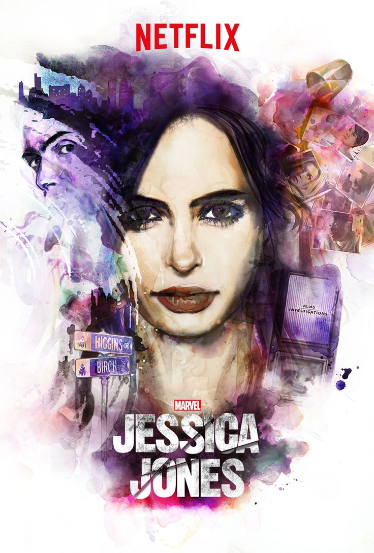 Marvel's Jessica Jones - American web neo-noir television series, based on the Marvel Comics character of the same name (13 episodes, 46-55 min per episode), 2015
