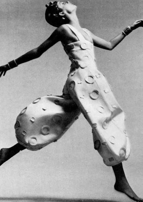 Fashion by Pierre Cardin, 1970.