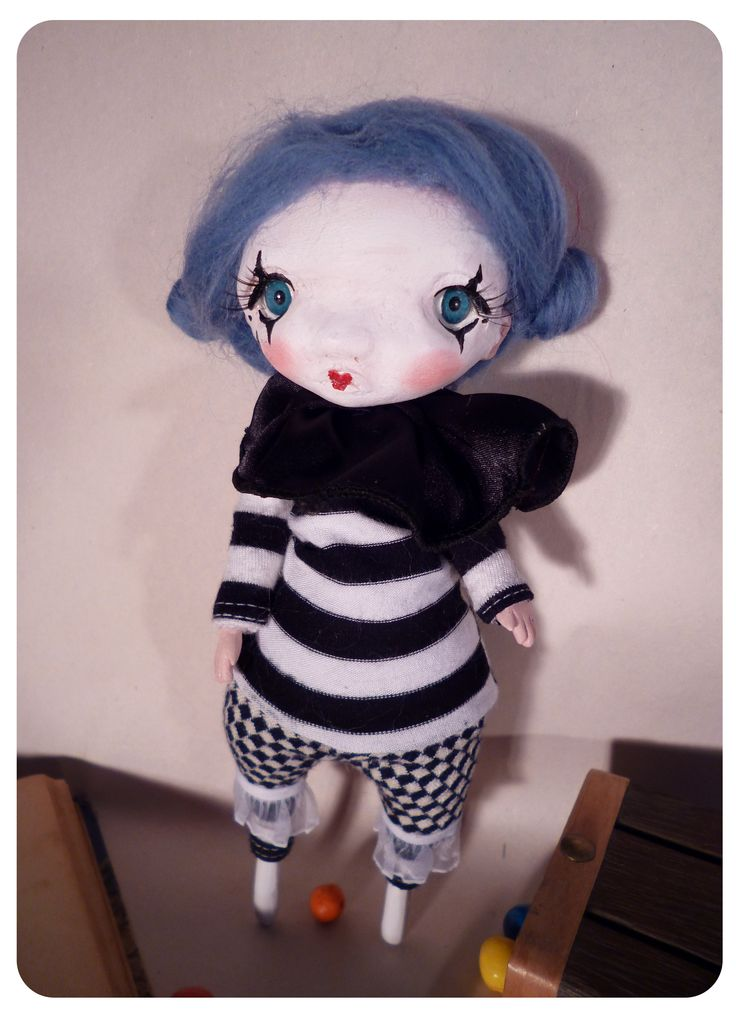 #ooak #poseable #doll #handmade