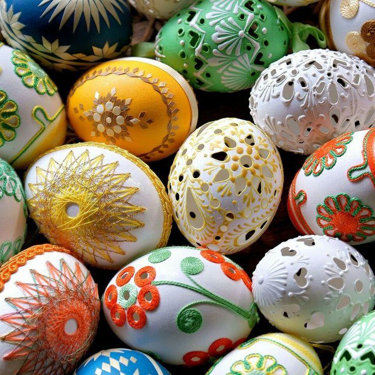 Atina dan ablm  yollamıs paskalya yumurtaları