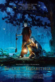 Bridge to Terabithia. Most of my favorite flicks have to do with the great children's literature I've had the privilege to teach. I'm a frustrated children's literature writer! This film, laden with deep emotion, causes soul work.