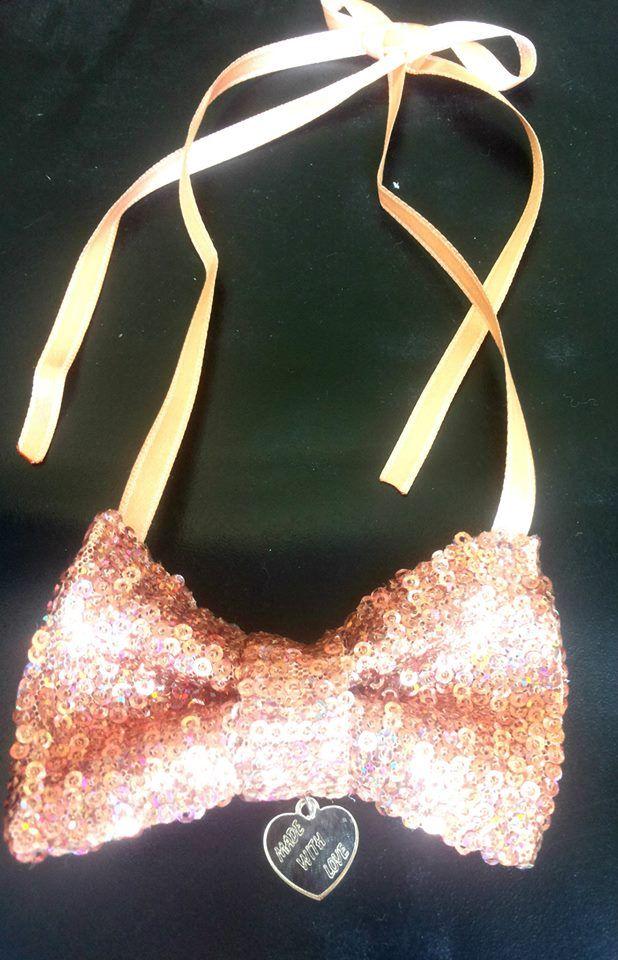 Colier papion  Bowtie necklace  https://www.facebook.com/Anna-Bijoux-860575383999728/