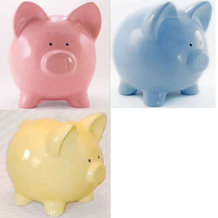 piggy banks with no hole