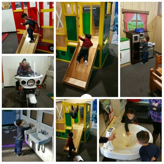 Fun day at kid's museum with brother and aunties  https://play.google.com/store/apps/details?id=com.roidapp.photogrid  iPhone  https://itunes.apple.com/us/app/photo-grid-collage-maker/id543577420?mt=8