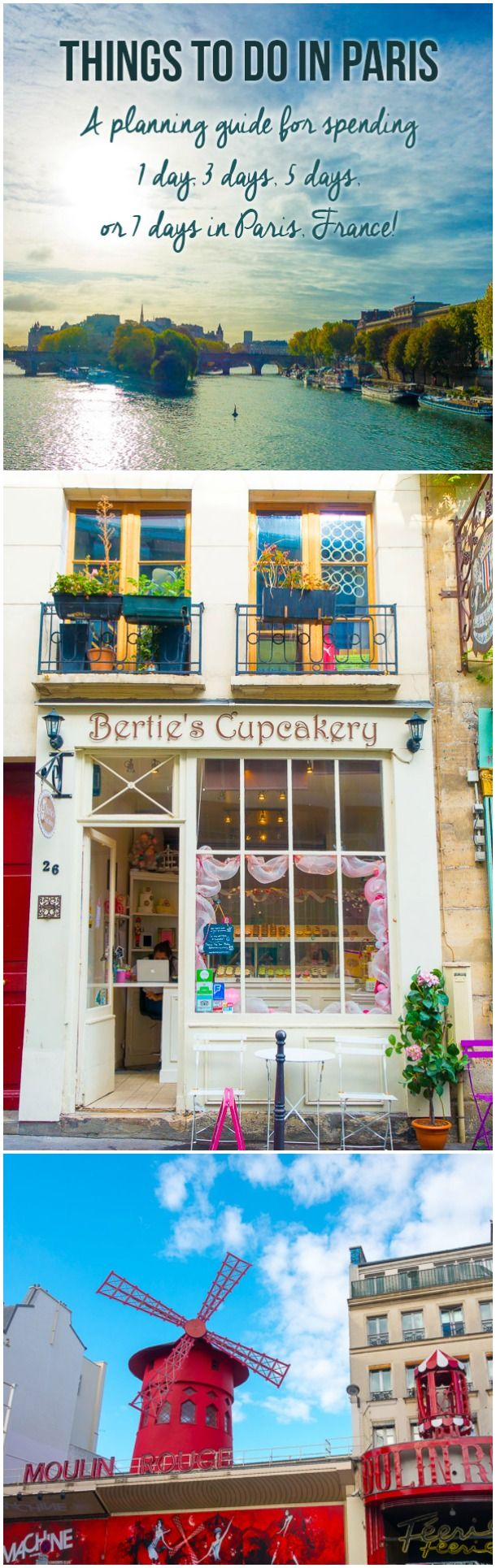 Must-Try Things To Do In Paris! Planning Tips for 1 Day in Paris Up to 7 Days in Paris on ASpicyPerspective.com #travel
