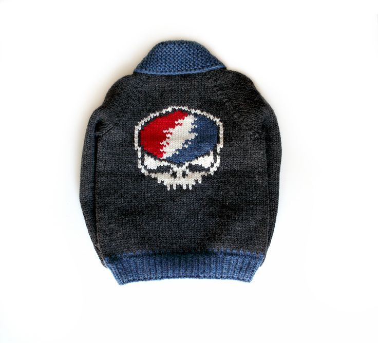 Grateful Dead skull sweater for John Mayer and The Dead and Company.