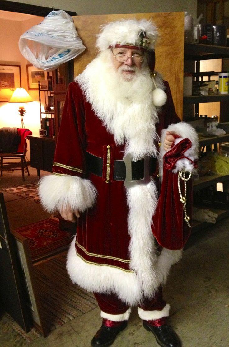 88 Best Santa Suit Ideas Images On Pinterest Papa Noel