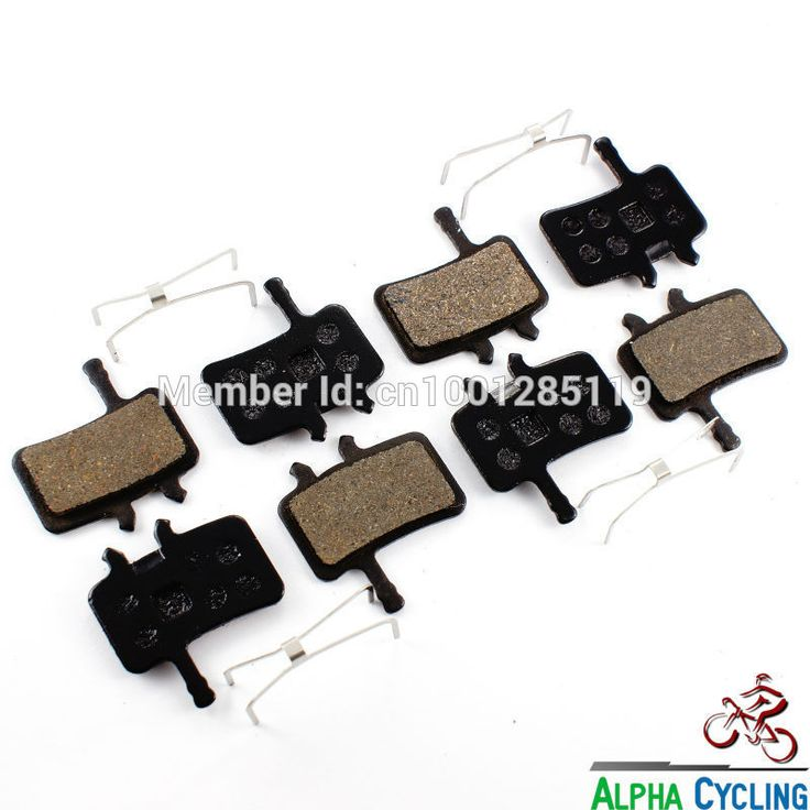 MTB Bicycle Disc Brake Pads for Avid BB7, Juicy 3 5 7 Ultimate Disc Brake, RESIN, 4 Pairs/ORD #clothing,#shoes,#jewelry,#women,#men,#hats,#watches,#belts,#fashion,#style