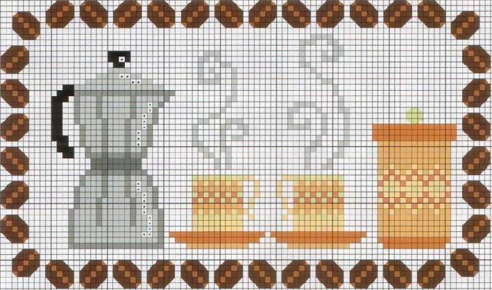 Schema punto croce Caffe-33