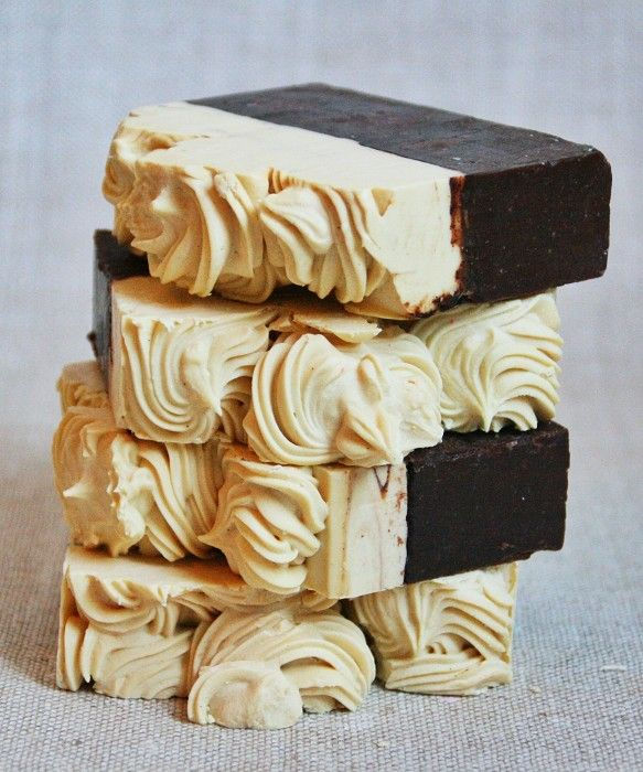 Banana Chocolate Soap - by CleanseWithBenefits on madeit