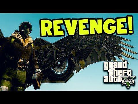 GTA 5 Mods – SpiderMan Symbiote Quinjet VS Vulture (Gta 5 Pc Mod)