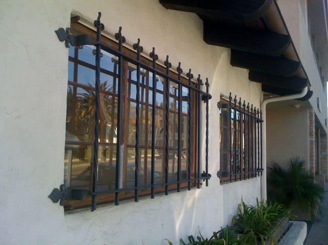 Window Guard-Summerland Custom Steel Window Bars, Forged steel bars, Wrought Iron Bars Detail Page