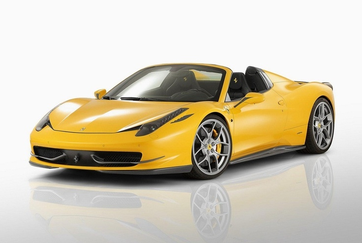 Super Bad Ass Ray of Sunshine~Rims are Da' Schidt too!! Novitec Rosso Ferrari 458 Spider~