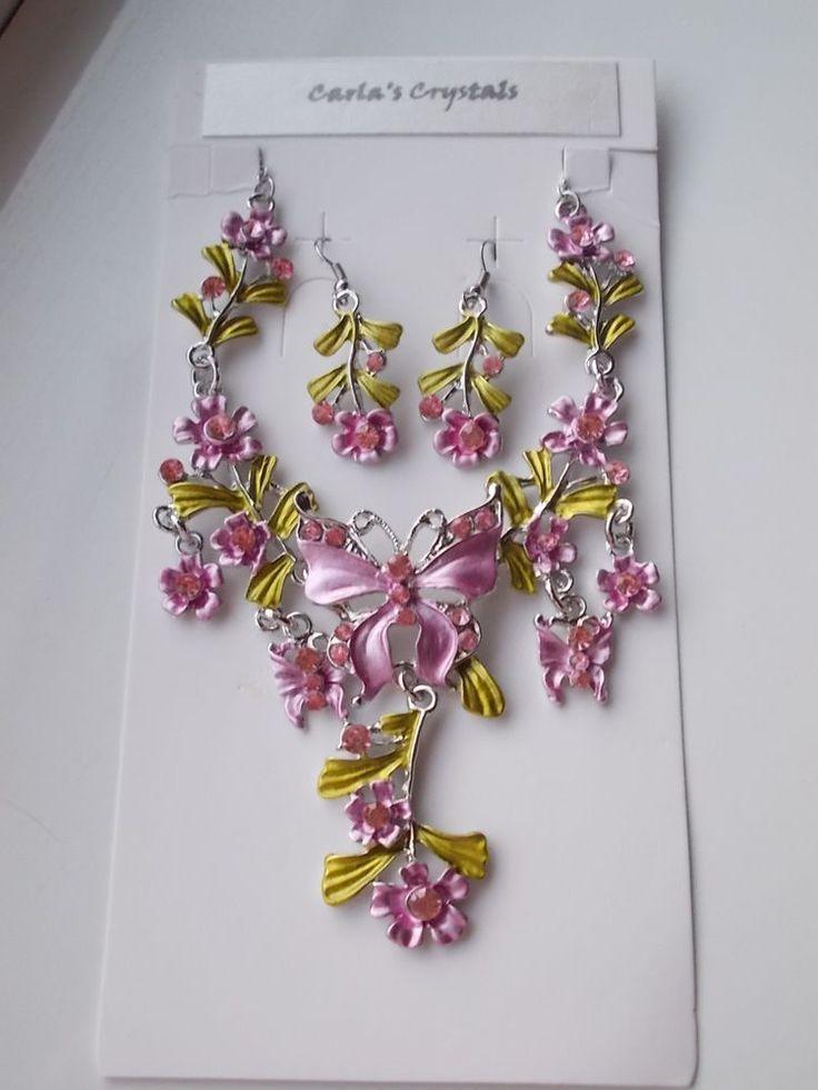 POST-XMAS SALE...Pink Jewellery Set