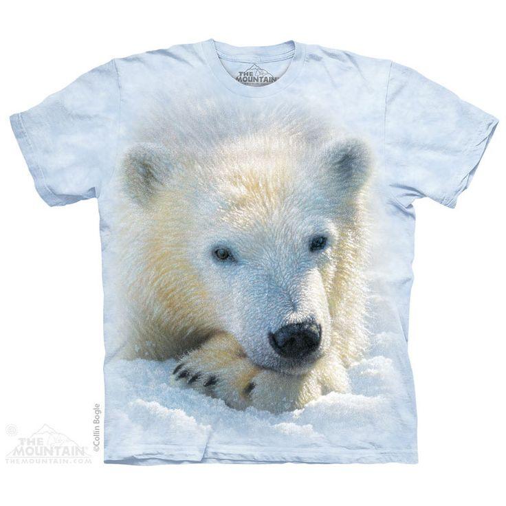 PRIKID - Polar Bear Cub T-Shirt, 333kr (http://prikid.eu/polar-bear-cub-t-shirt/)