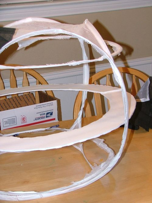 Sphere shaped costume