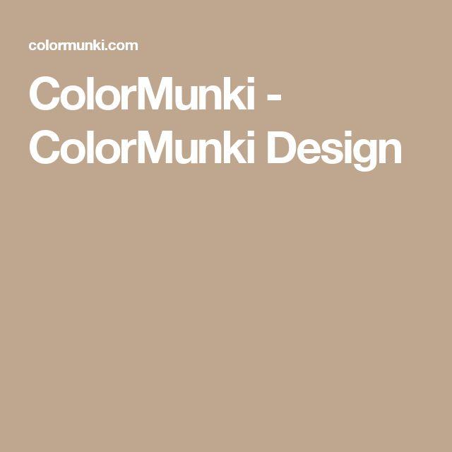 ColorMunki - ColorMunki Design