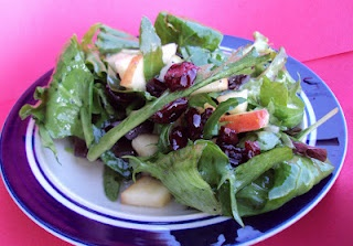 Great summer salad: Pear & Apple Salad with Sweet Poppy Seed Dressing
