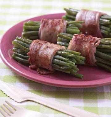 Fagots de haricots verts au lard, la recette d'Ôdélices : retrouvez les ingrédients, la préparation, des recettes similaires et des photos qui donnent envie !