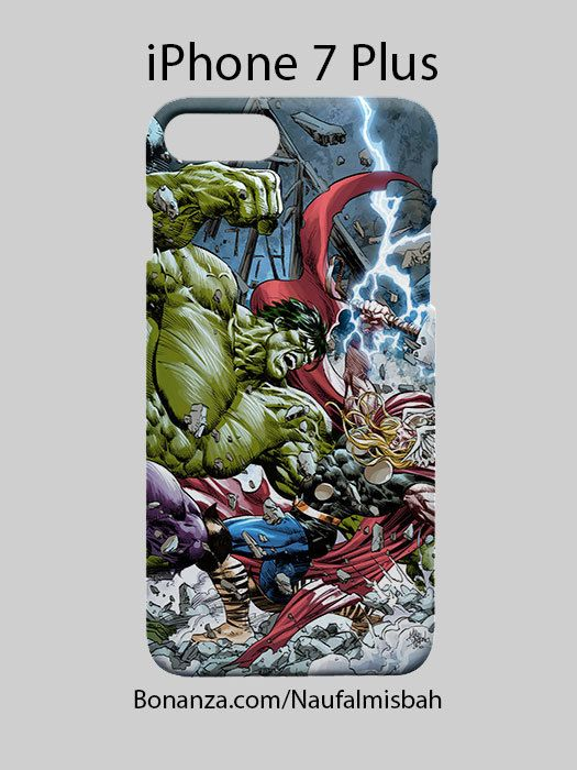 Hulk Vs Thor Comic iPhone 7 PLUS Case Cover