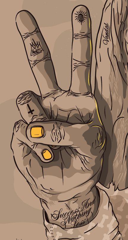 """""""Bonethugs"""" by Shaun Oakley, via Behance"""