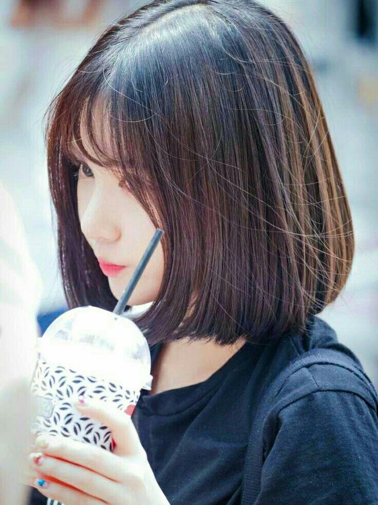 Eunha Jungeunbi Jungeunha Gfriend Eunhagf Kpop Gf Buddy Cabelo Curto Cabelo Longo Ideias De Cabelo