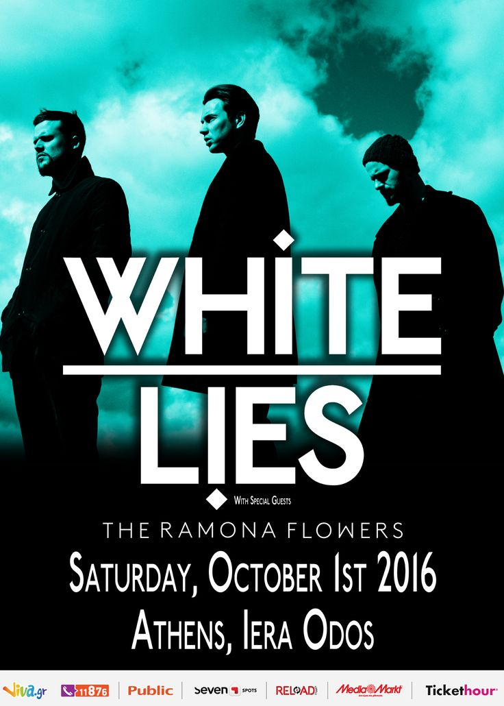 White Lies live in Athens (Postponed) (2016)