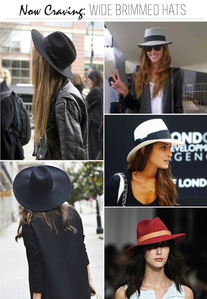 Now Craving: Wide Brimmed Hats